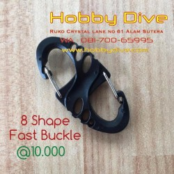 [HD-148] 8 Shape Fast Buckle Accessories